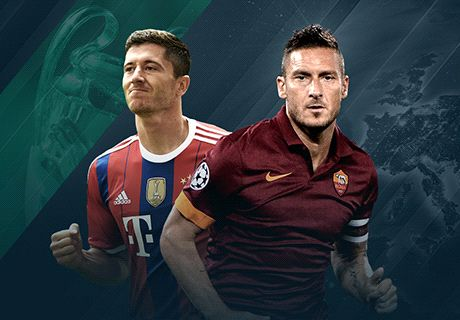 Preview: Roma - Bayern Munich
