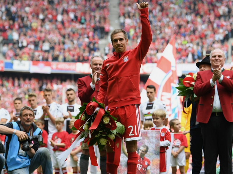 'I will miss it' - Lahm says emotional goodbye to Bayern Munich