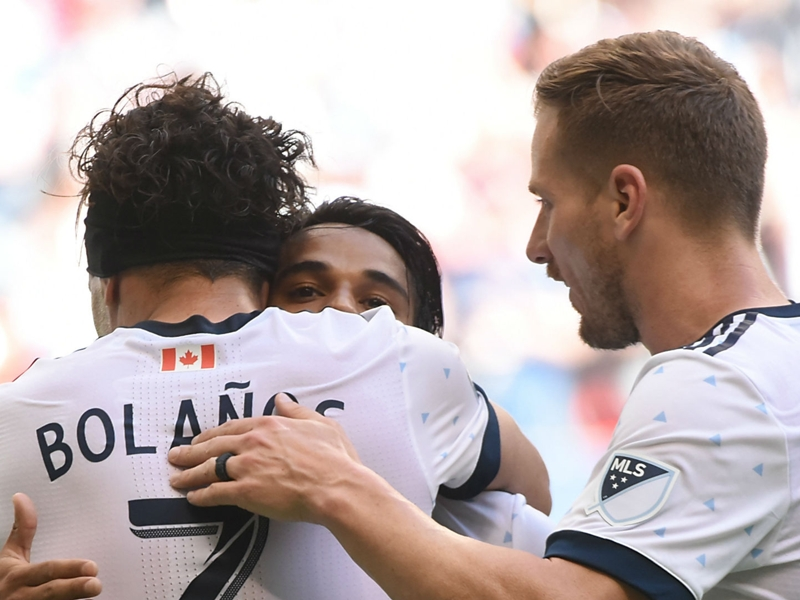 WATCH: Whitecaps combine for beautiful team goal