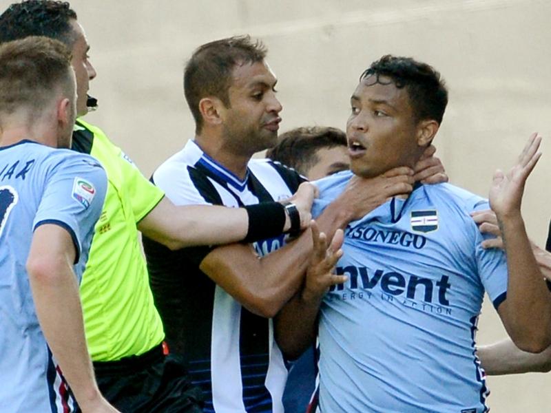 Squalificati Serie A: due turni a Danilo, fermato Dani Alves