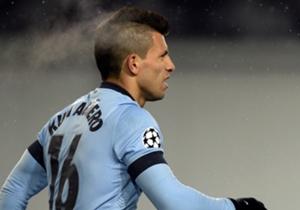 Sergio Aguero is al weken belangrijk voor Manchester City