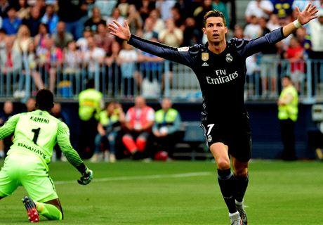 FT: Malaga 0-2 Real Madrid