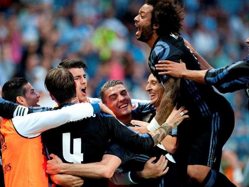 Le Real Madrid marque durant les 38 journées de Liga et s'offre un record