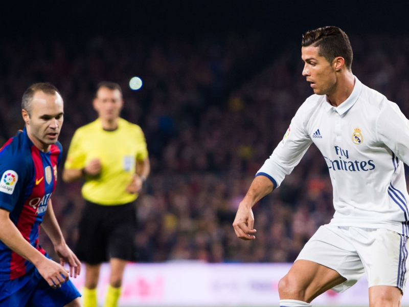 'Real Madrid were better than us' - Barcelona midfielder Iniesta congratulates La Liga rivals