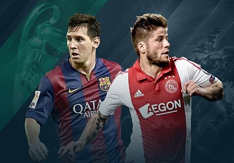LIVE! FC Barcelona - Ajax