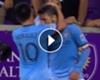 VIDEO; ¡Una sociedad que ilusiona! Moralez y David Villa armaron un golazo