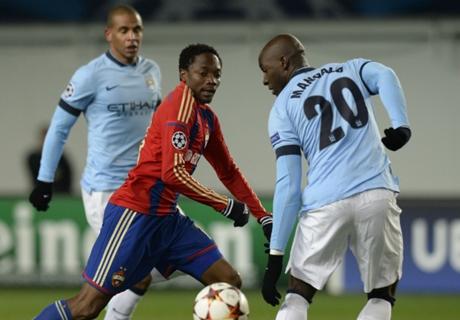 Player Ratings: CSKA 2-2 Man City