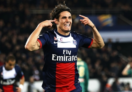 Cavani: I'm happy at PSG now
