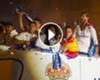 VÍDEO: Los jugadores del Real Madrid se acordaron de Gerard Piqué