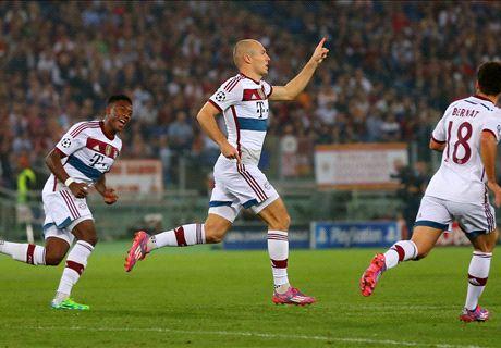 Robben: No regrets over Man Utd snub