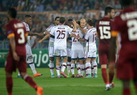 Player Ratings: Roma 1-7 Bayern