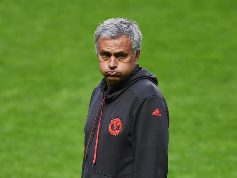 Mourinho not happy with Man Utd transfer business