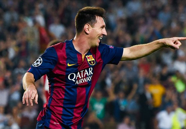 Messi breaks Raul's Champions League record