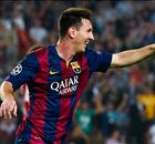 How Barca strikers have fared with Messi
