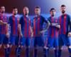 Barcelona Andres Iniesta Pique Lionel Messi Neymar Jr. 2016 La Liga