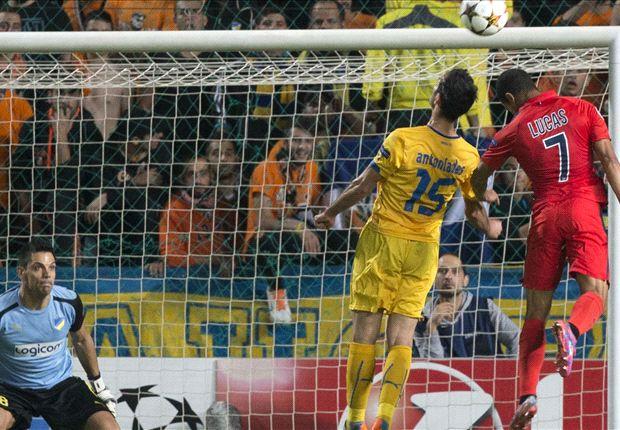 APOEL 0-1 PSG: Cavani earns French champions crucial win