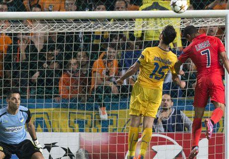 Report: APOEL 0-1 PSG
