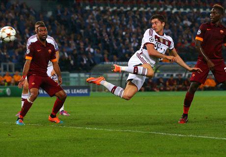 Brilliant Bayern humiliate Roma