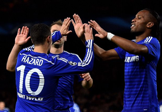 Chelsea 6-0 Maribor: Drogba & Hazard strike in Blues romp