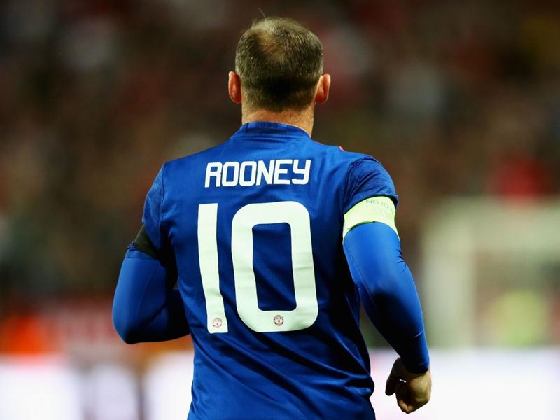 Manchester United, Rooney reprend (déjà) l'entrainement