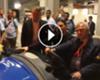 VÍDEO: El cochecito de Ibrahimovic para no forzar la rodilla