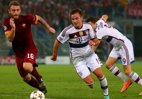 De Rossi: Bayern loss a dagger to heart