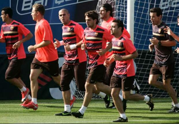 Barcelona Begin Champions League Final Preparations