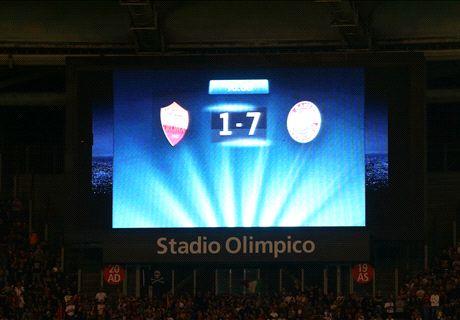 Roma, euro-disfatta 2.0: il Bayern ne fa 7