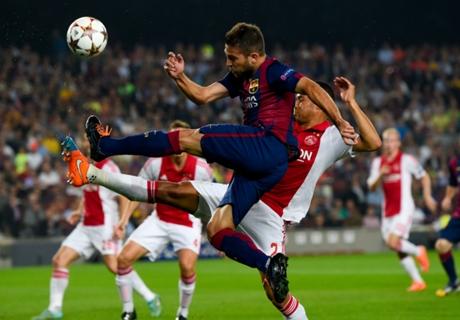 Player Ratings: Barcelona 3-1 Ajax