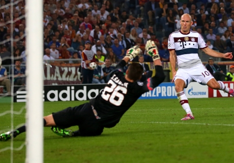 Robben ne regrette pas d'avoir refusé Manchester United