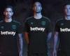 West Ham unveil new black and blue 2017-18 away kit