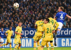 Benedikt Howedes (3-1) | Schalke 4 Sporting Lisbon 3 | Champions League