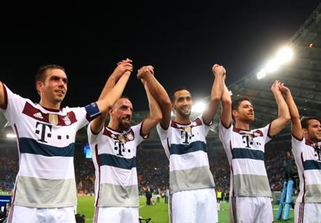 7:1! Bayern überrollen die Roma