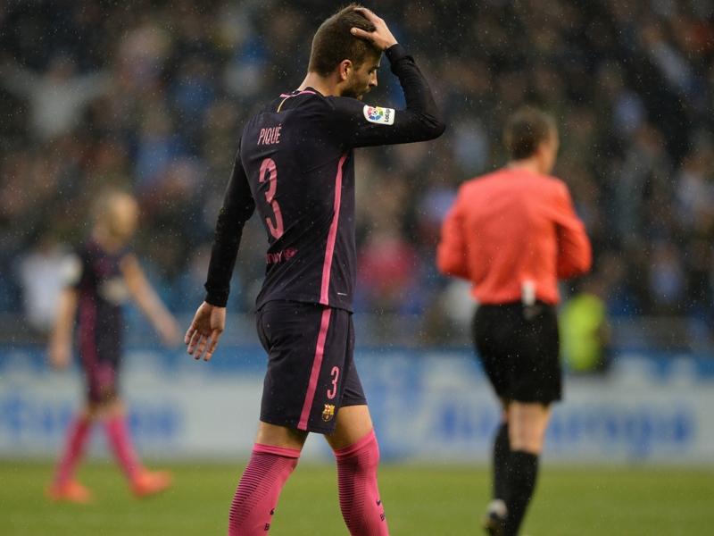 Referees influenced La Liga title race, claims Pique