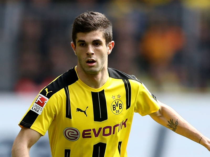 Pulisic backs Dortmund to dethrone Bayern in Bundesliga