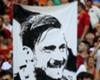 Totti banner, Roma v Genoa