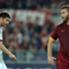 Daniele de Rossi terlihat kecewa dengan hasil Roma