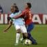 Manchester City's Vincent Kompany challenges Roman Eremenko of CSKA Moscow