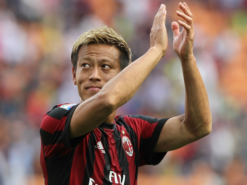 Pachuca sign Japan international Honda after AC Milan exit