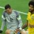 Dante Julio Cesar Brazil Germany World Cup 2014