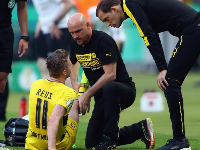 Dortmund confirm knee ligament damage for Reus