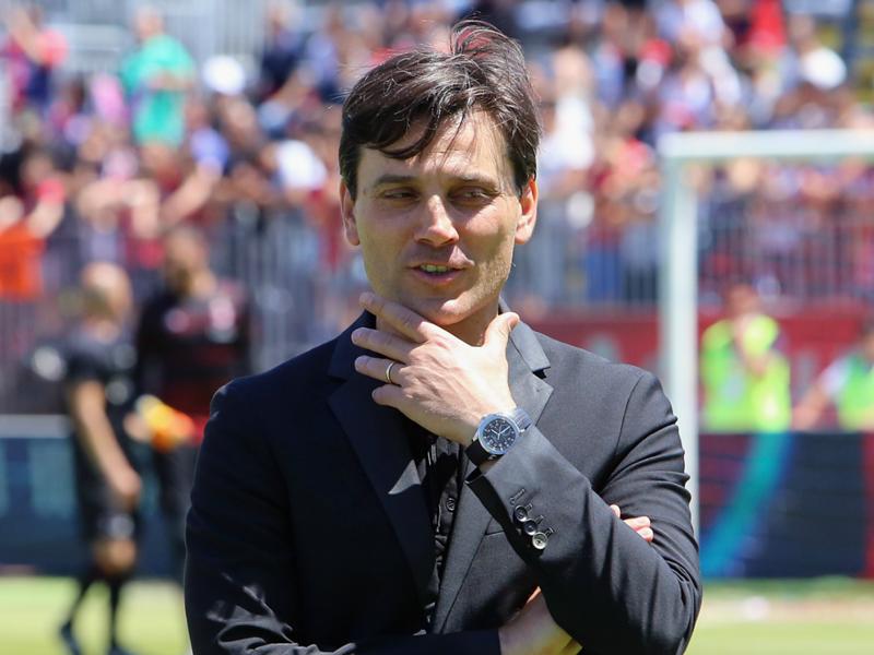 """AC Milan, Montella ambitieux sur le mercato : """"Morata et Belotti sont complémentaires"""""""