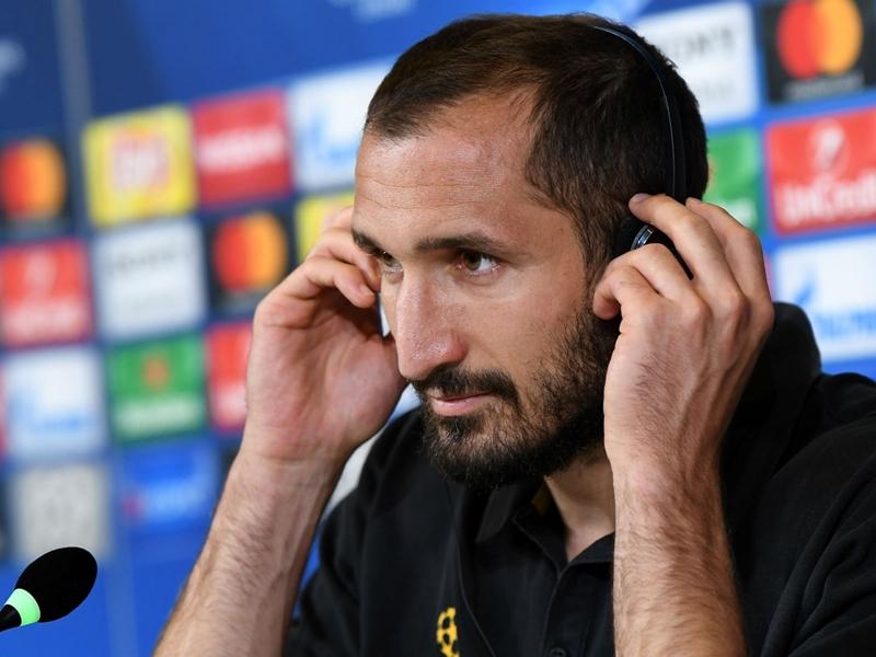 Chiellini: Juve improved since 2015 Champions League final loss