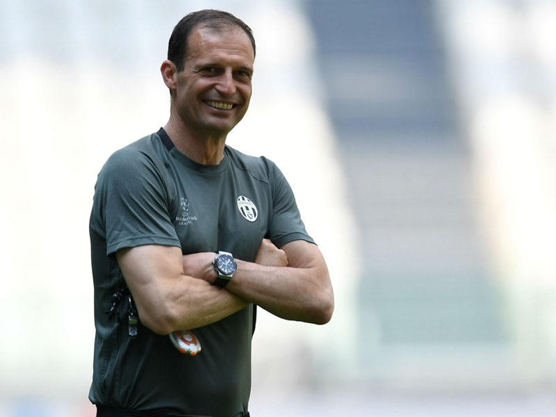 Allegri not worried by Juve final record as he shakes off 'air of negativity'