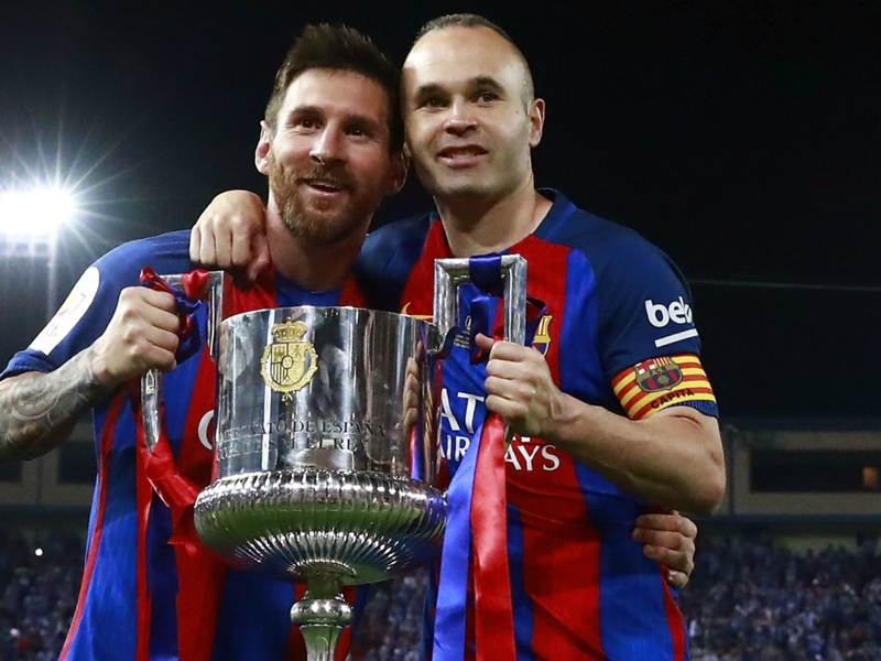 Iniesta admits 'strange feelings' as midfielder casts doubt on Barcelona future