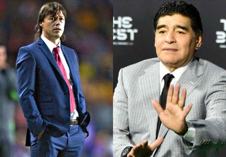 Almeyda inspiró a Maradona