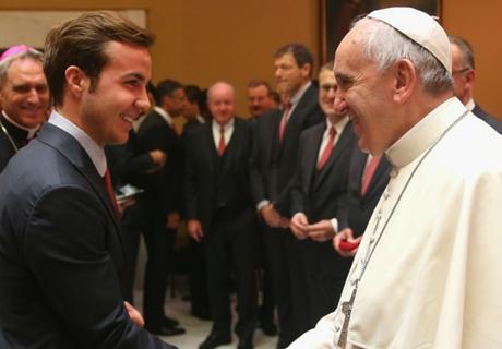 Galerie: Bayern besucht den Papst