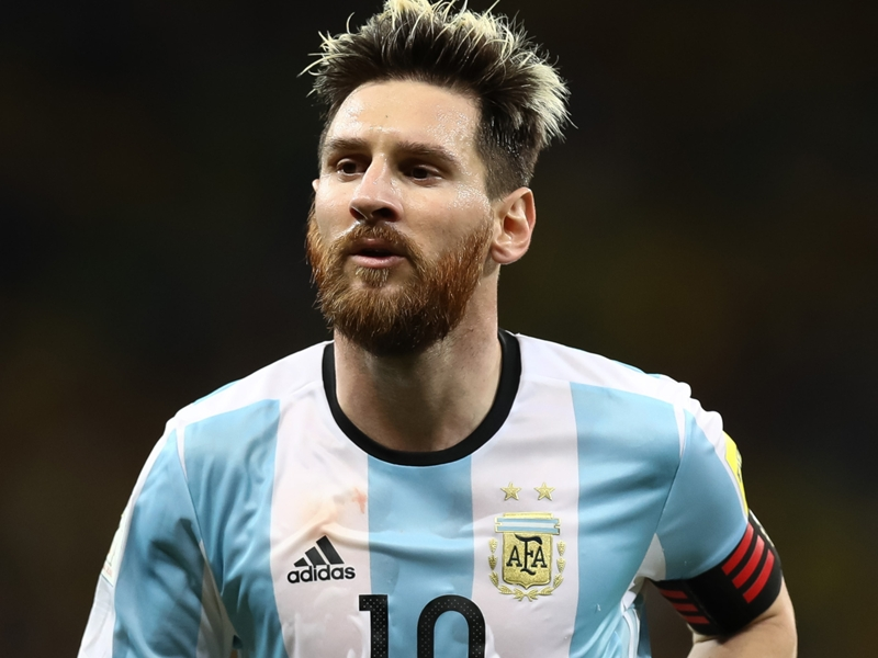 Sampaoli keen to build around 'very excited' Messi in Argentina team