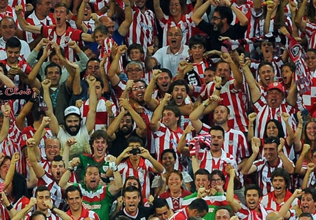 Fans del Athletic,