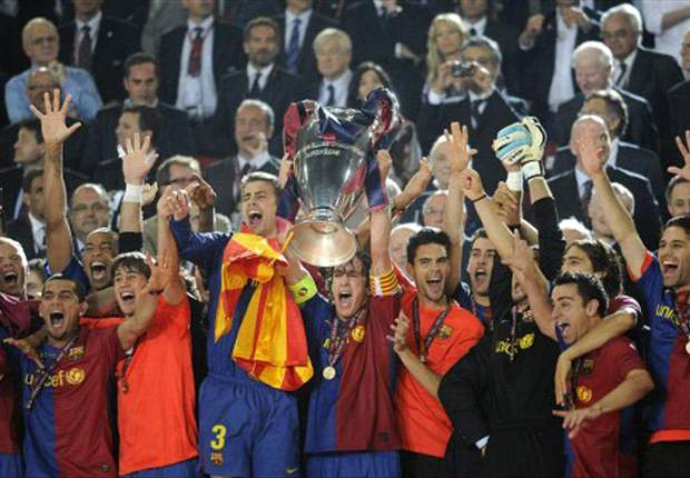 VIDEO SPECIAL: Barcelona's Champions League Gladiator Film